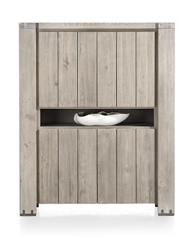 Avola, Armoire 4-portes + 1-niche