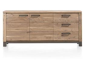 Falster, Sideboard 2-doors + 3-drawers 190 Cm