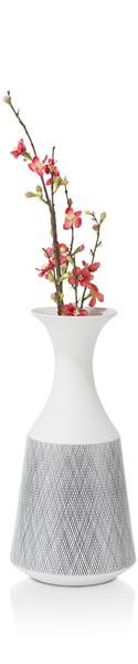 Vase Dagny - Large - Height 41,5 Cm - White