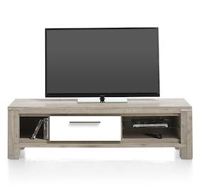 Multiplus, Meuble Tv 150 Cm - 1-porte Rabattante + 3-niches