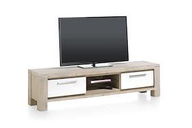 Multiplus, Meuble Tv 1-tiroir + 1-porte Rabattante + 2-niches