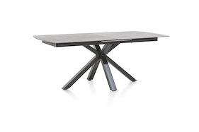 Multiplus, Table A Rallonge 200 (+ 60) X 100 Cm - Stone Glass