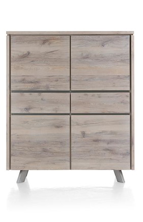 Ermont, Cabinet 4-doors + 2-drawers