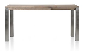 Ermondo, Table Haute A Rallonge 140 (+ 50) X 90 Cm (hauteur: 92 Cm)