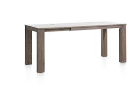 Ermondo, Table Haute A Rallonge 160 (+ 50) X 90 Cm (hauteur: 92 Cm)