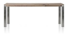 Ermondo, Table Haute A Rallonge 180 (+ 50) X 90 Cm (hauteur: 92 Cm)