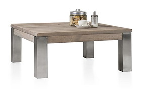 Ermondo, Table Basse 90 X 90 Cm