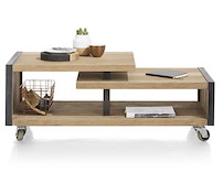 Metalo, Coffee Table 120 X 60 Cm + 1-niche