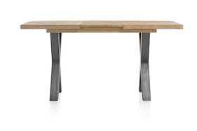 Metalox, Table De Bar A Rallonge  140 X 90 Cm (+ 50 Cm) (hauteur 92 Cm)