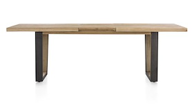 Metalox, Extendable Dining Table 190 X 100 Cm (+ 50 Cm)