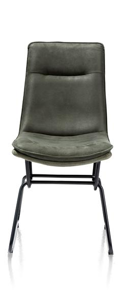 Luca, Chaise - Pied Metal