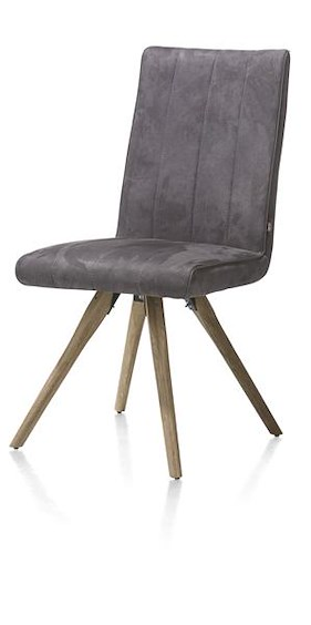 Elza, Dining Chair - Wooden Frame - Fabric Calabria 4 Colours