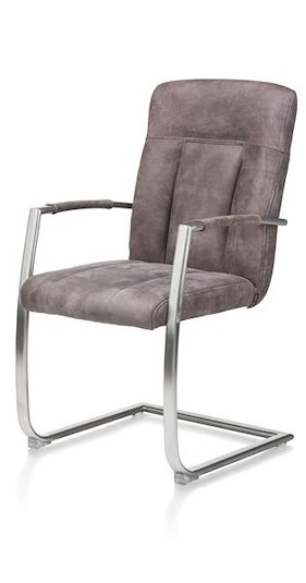 Jake, Dining Armchair - 2 Colours Cuba + Grip