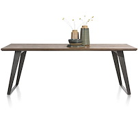 Box, Dining Table 220 X 100 Cm - Square Leg