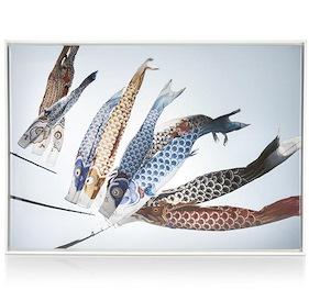 Painting Fish Kyte - 74 X 104 Cm