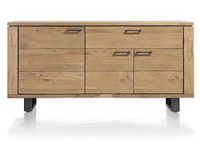 Quebec, Sideboard 3-doors + 1-drawers - 180 Cm