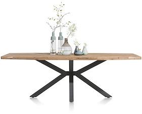 Quebec, Table 210 X 100 Cm - Pieds En Metal
