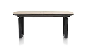 Prato, Table A Rallonge 180 (+ 60) X 100 Cm