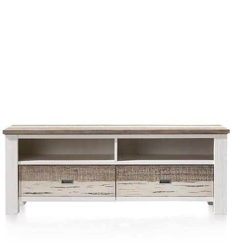 Tibro, lowboard 2-drawers + 2-Niches - 160 cm-1
