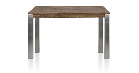 Masters, table de bar 160 x 140 cm - inox 9x9-1
