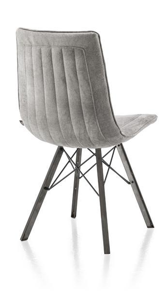 Thora, dining chair - vintage metal-1