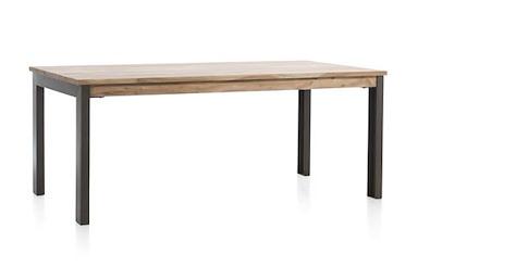 Falster, table a rallonge 190 (+ 60) x 100 cm
