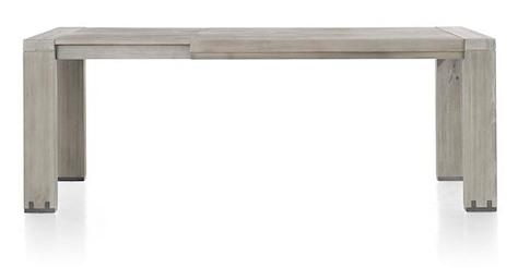 Avola, table a rallonge 160 (+ 60) x 100 cm