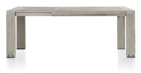 Avola, table a rallonge 140 x 160 cm (+ 50 cm)-1