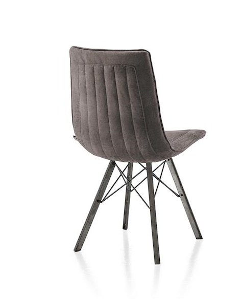 Thora, dining chair - vintage metal - Talamanca-1