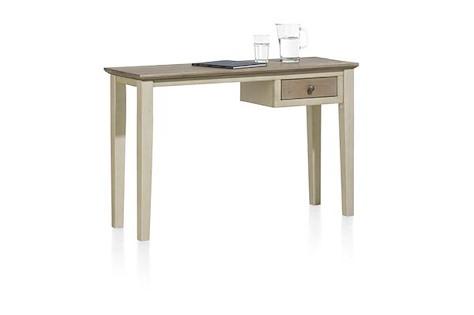 Le Port, table pour laptop 120 x 40 cm + 1-tiroir t&t