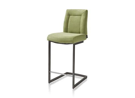chaise bar malene metal pied traineau carr poign e heth. Black Bedroom Furniture Sets. Home Design Ideas