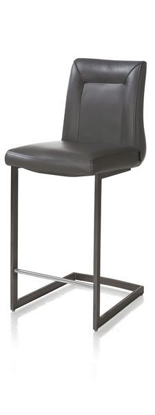 Malvino, barchair - vintage metal square swing frame-1