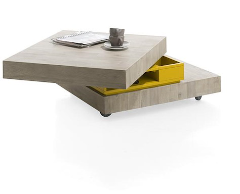 MultiPlus, table basse 80 x 70 cm + 4-niches-1