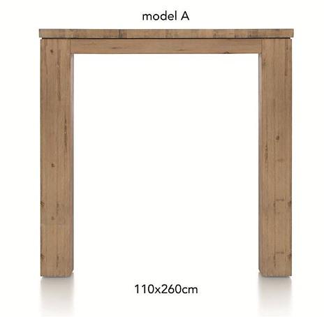 A La Carte, table de bar 260 x 110 cm - AAD-1