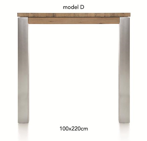 A La Carte, table de bar 220 x 100 cm - DIRK-1