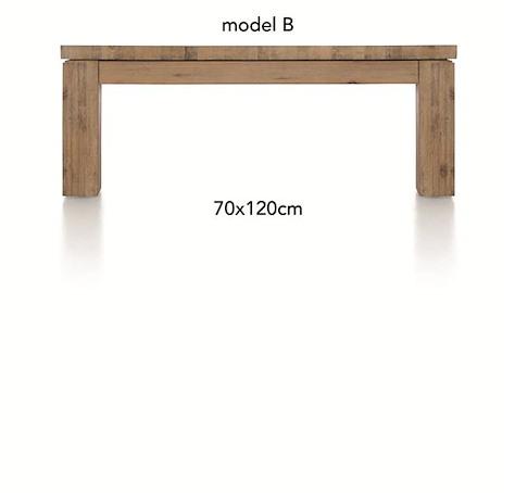 A La Carte, table basse 120 x 70 cm - BEN-1