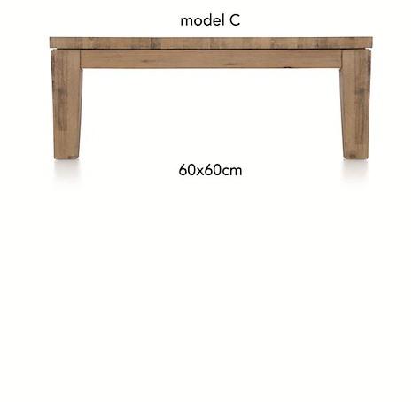 A La Carte, coffee table 60 x 60 cm - COR-1
