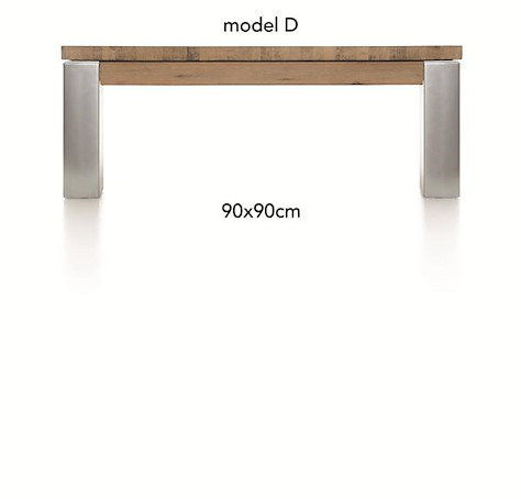 A La Carte, table basse 90 x 90 cm - DIRK-1