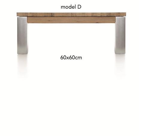A La Carte, table basse 60 x 60 cm - DIRK