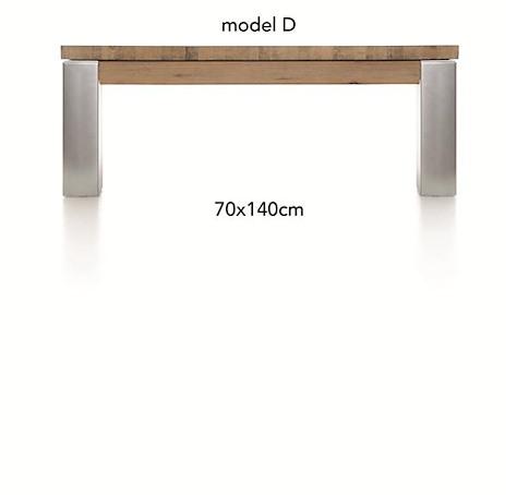 A La Carte, table basse 140 x 70 cm - DIRK