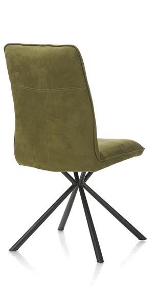 Milva, chaise - pieds noir-1