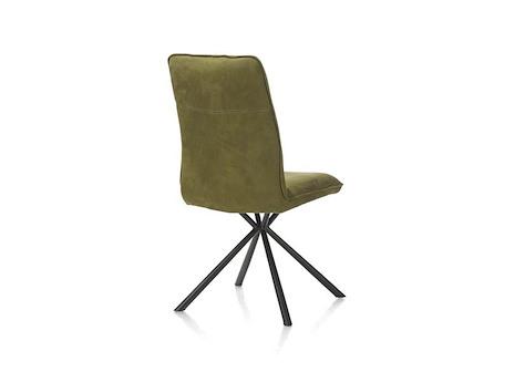 chaise pieds noir milva. Black Bedroom Furniture Sets. Home Design Ideas