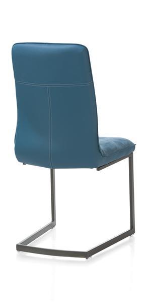 Milva, chaise - pietement vintage