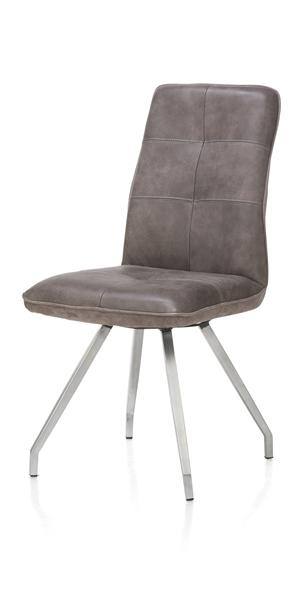 Milan leder, chaise - pied artis 4-pieds-1