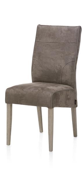 Evan, dining chair - oak leg-1