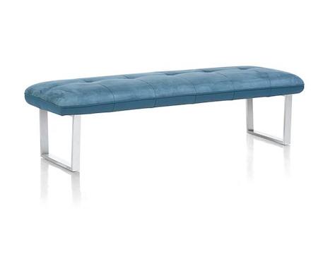 Milva bank, sofa sans dos + ressort ensache - 180 cm