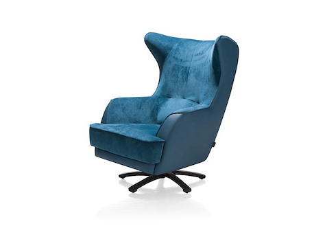 fauteuil rotatif avatoon 109x76cm heth. Black Bedroom Furniture Sets. Home Design Ideas