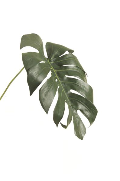 monstera leaf - 70 cm - vert-1