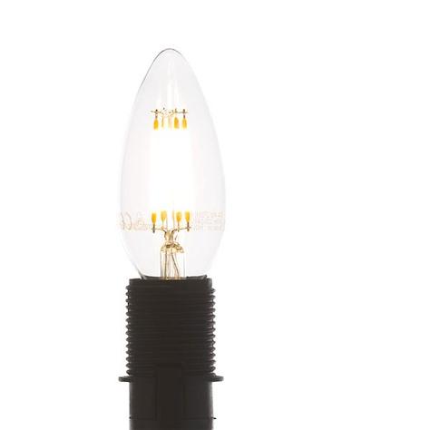 led E-14 - candle filament - warm white-1