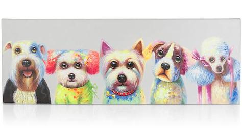 peinture Puppy Bastards - 50 x 140 cm-1